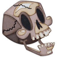 Sizzix Thinlits Die Set 10PK - Skelly, Colorize by Tim Holtz (664746)
