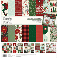 Simple Stories - 12x12 Paper Collection - Jingle All The Way (JGL13700)