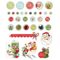 Simple Stories - Decorative Brads 32/Pkg - North Pole (VNP13628)