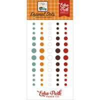 Echo Park - Enamel Dots 60/Pkg - Happy Fall - (AP219028)