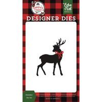 Echo Park - Die Cut - A Lumberjack Christmas - Reindeer (LC220043)