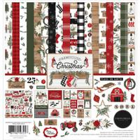 Carta Bella - 12x12 Collection Kit - Farmhouse Christmas (AC123016)
