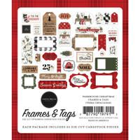 Carta Bella - Cardstock Ephemera 33/Pkg - Farmhouse Christmas (AC123025)