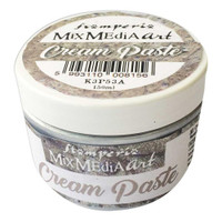 Stamperia - Metallic Cream Paste 150ml - Silver (K3P53A)
