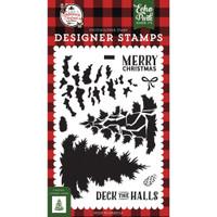 Echo Park -Stamp - A Lumberjack Christmas - Layered Pine Tree (LC220046)