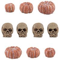 Tim Holtz - Idea-Ology Mini Skulls & Pumpkins 10/Pkg - Halloween 2020 (TH94067)