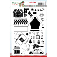 Find It Trading - Yvonne Creations - Clear Stamps - Christmas Village (YCCS0059)