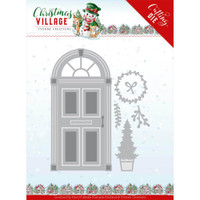 Find It Trading - Yvonne Creations Die - Christmas Village - Christmas Door (YCD10210)