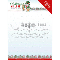 Find It Trading - Yvonne Creations Die - Christmas Village - Christmas Lights (YCD10212)