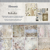 49 and Market - Scrapbooking Mini Collection Pack 12x12 - Remnants (MZ33058)