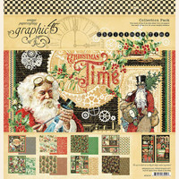 "Graphic 45 - Collection Pack 12""X12"" - Christmas Time (G4502119)"