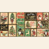Graphic 45 - Ephemera & Journaling Cards - Christmas Time (G4502123)