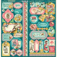 "Graphic 45 - Collection Pack 12""X12"" - Ephemera Queen (G4502104)"