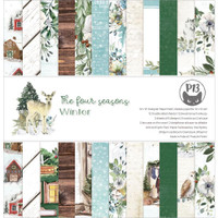 P13 - Paper Pad 12x12 - The Four Seasons - Winter (P13WIN08)