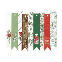 P13 - Decorative Tags 9/Pkg- The Four Seasons - Winter - #03 Banners (P13WIN23)