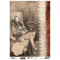 Studio Light - Just Lou Exploration - Decoupage Rice Paper A4 - NR 02 (RICEJL02)