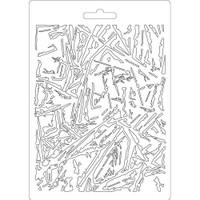 """Stamperia Soft Maxi Mould """"8.27x5.90"""" - Glass (K3PTA559)"""