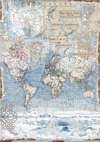 Stamperia - Decoupage Rice Paper A3 11.69x16.53- Antarctic Exploration (DFSA3078)