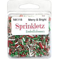 28 Lilac Lane / Buttons Galore : Sparkletz Embellishment Pack 10g - Merry and Bright (BNK - 118)