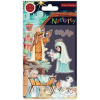 Craft Consortium - A5 Clear Stamps - Nativity (CSTMP047)