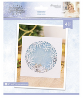 Crafter's Companion - Metal Die - Glittering Snowflakes - Frosted Flurry (GSMDFRFL)