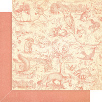 """Graphic 45 - Double-Sided Patterns & Solids Pad 12""""X12"""" 16/Pkg - Woodland Friends (G4502136)"""