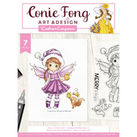 Crafter's Companion - Clear Stamps By Conie Fong - Molly's Fairy Gift (TPMOLFG)