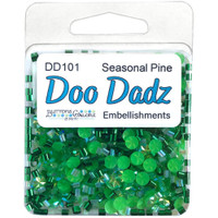 28 Lilac Lane / Buttons Galore - Doodadz Embellishments - Seasonal Pine (DOODADZ DD101)
