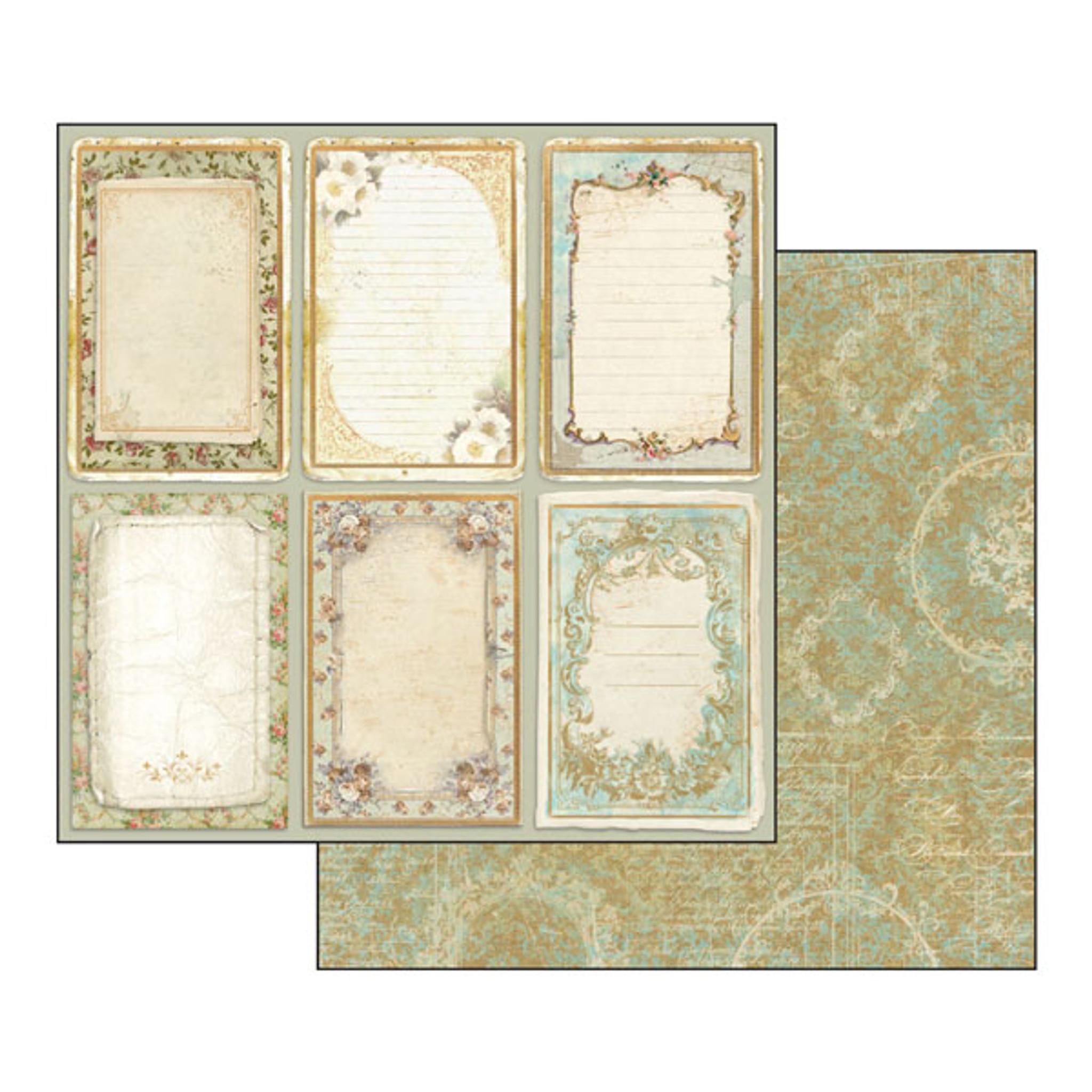 Stamperia Precious 12 x 12 Paper Pad