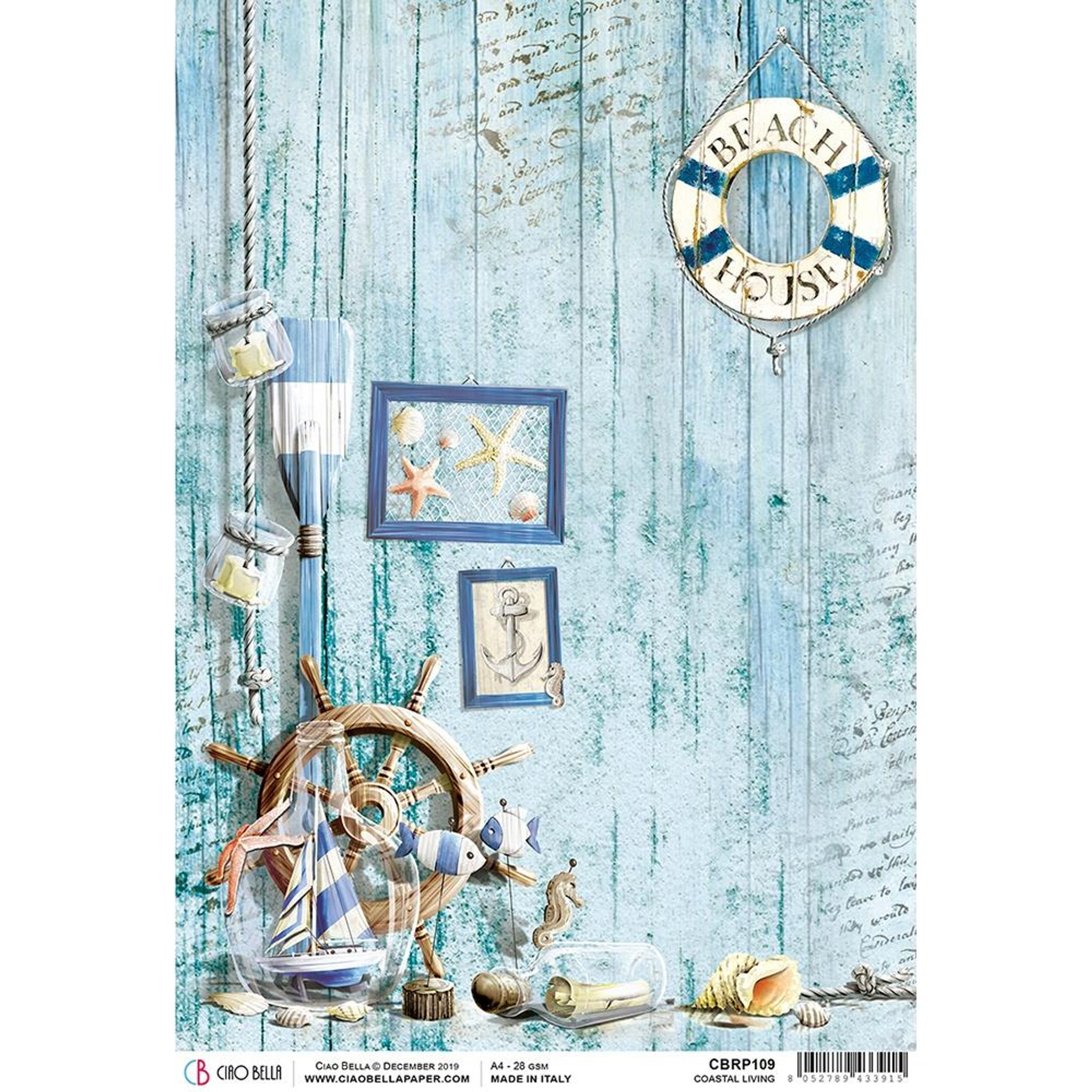Rice Papers Christmas and Cats Decoupage Scrapbook and Craft Sheet 23