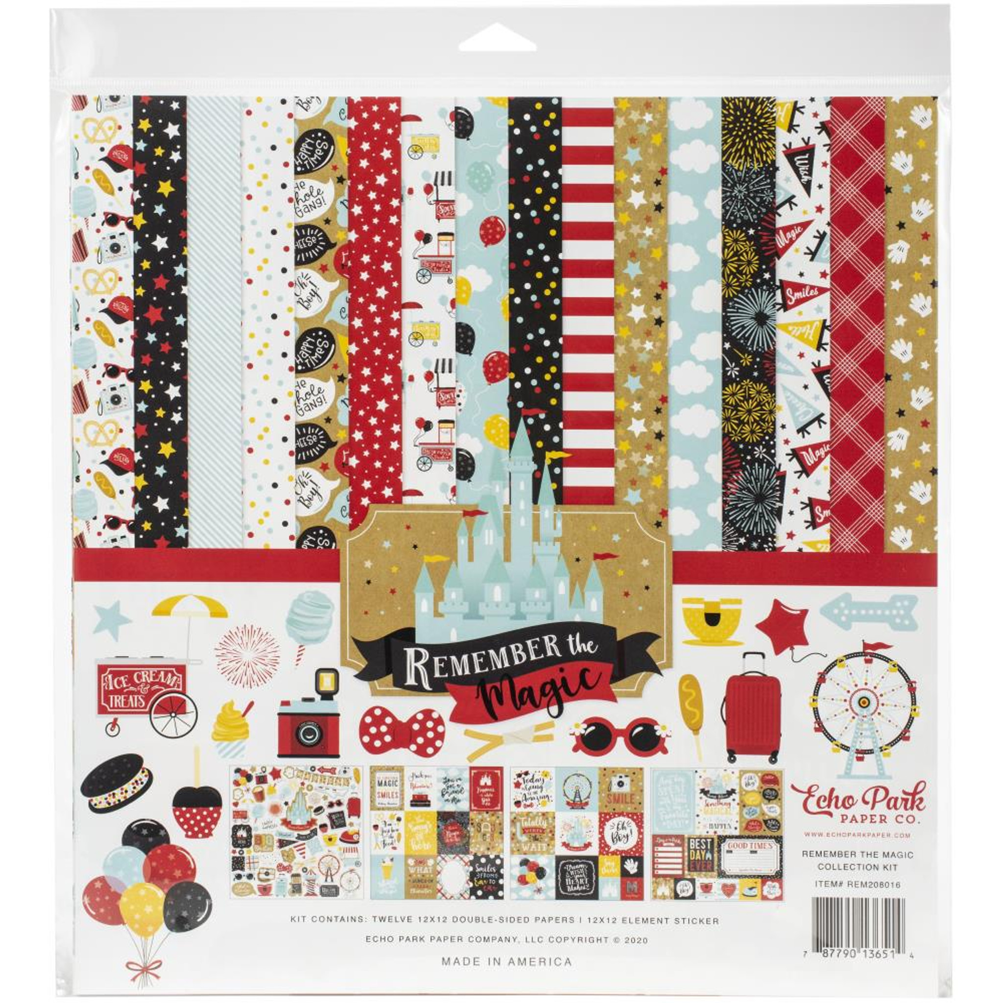 Magic /& Wonder Collection Scrapbooking 6x6 Paper Pad 24 Sheet Echo Park