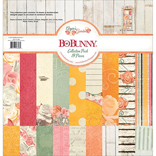 Bo Bunny - 12x12 Collection Pack - Aryia's Garden (21016898)