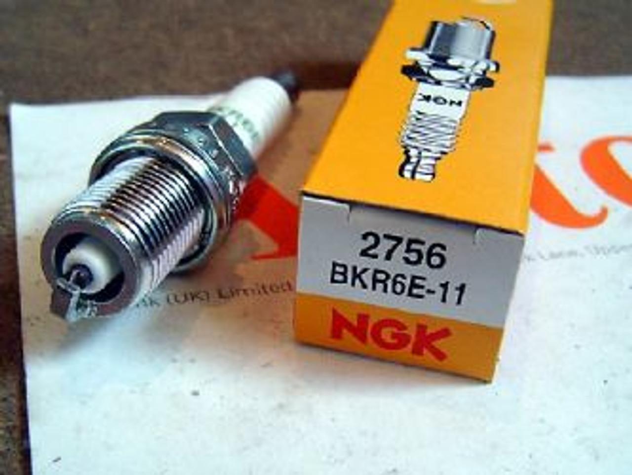 NGK Copper Core Spark Plug BKR6E-11 NGK2756 set of 4