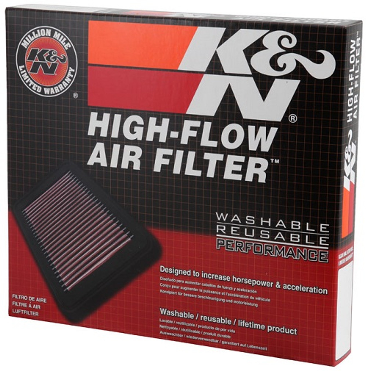 K/&N Panel Air Filter FOR BMW 3 SERIES F31 33-2990