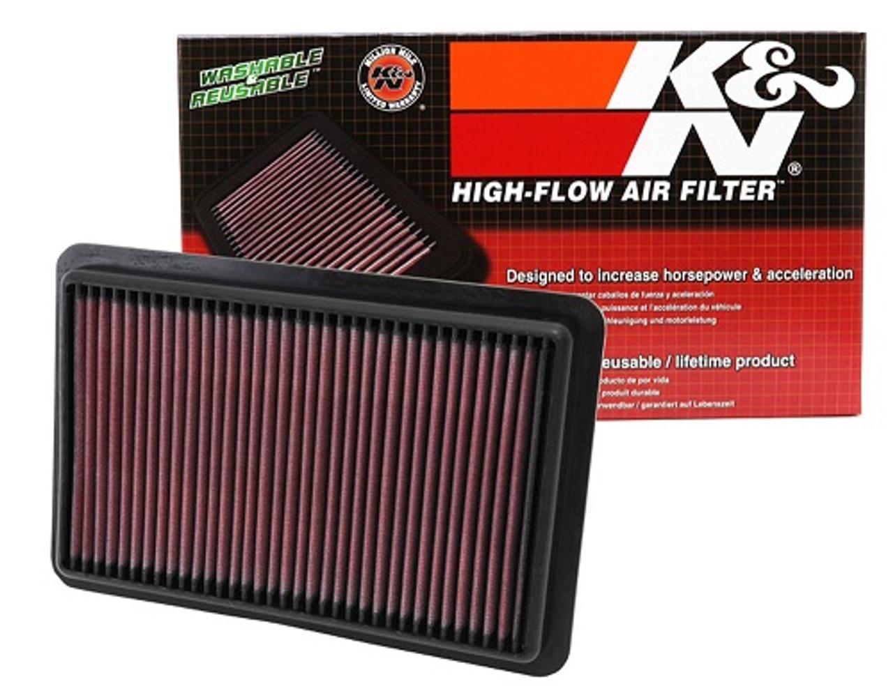 Reusable Cotton Gauze Oiled K/&N 33 Series 33-2480 Air Filter
