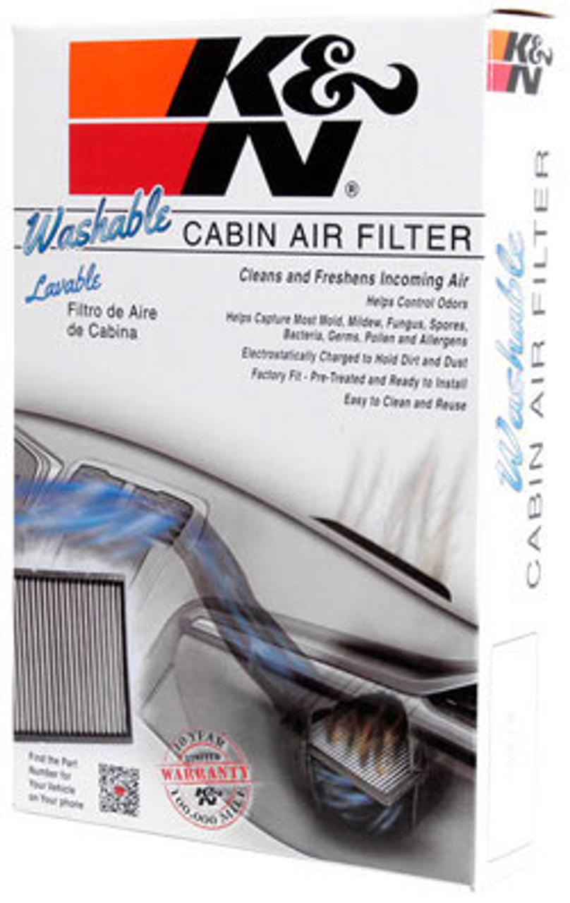 K/&N Filters VF2000 Car Cabin Air Filter