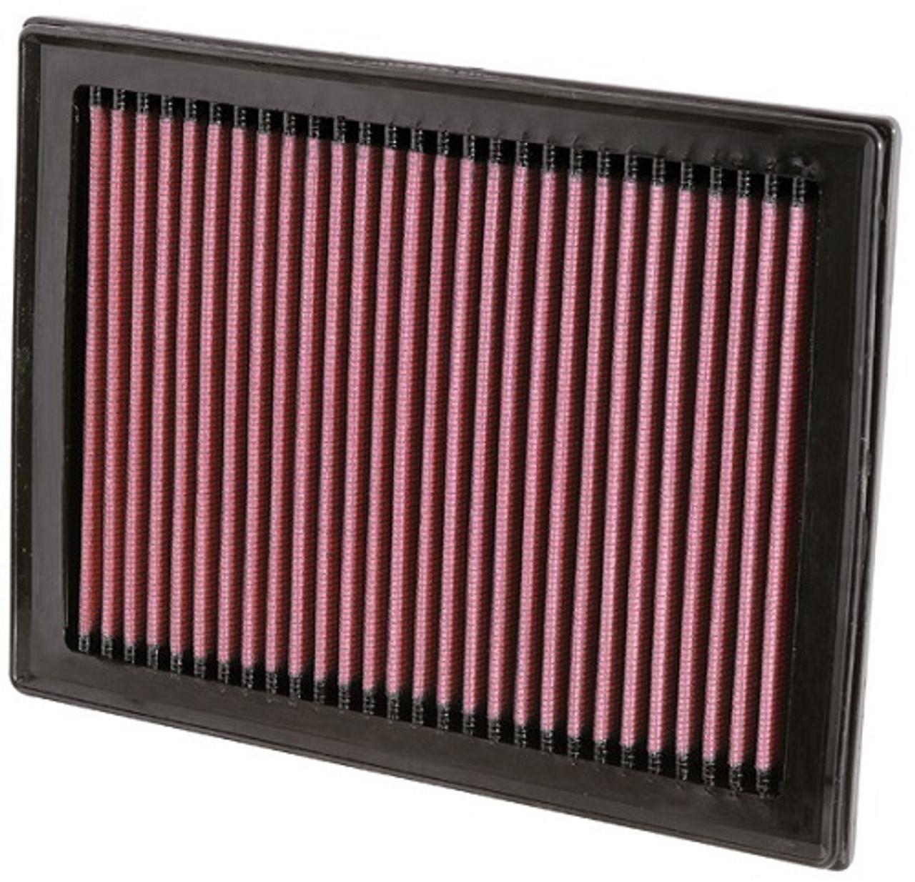K/&N 33-2409 x 2 Drop In Air Intake Filters FX35 FX37 FX50 Q50 Q60 Q70 QX70 M56