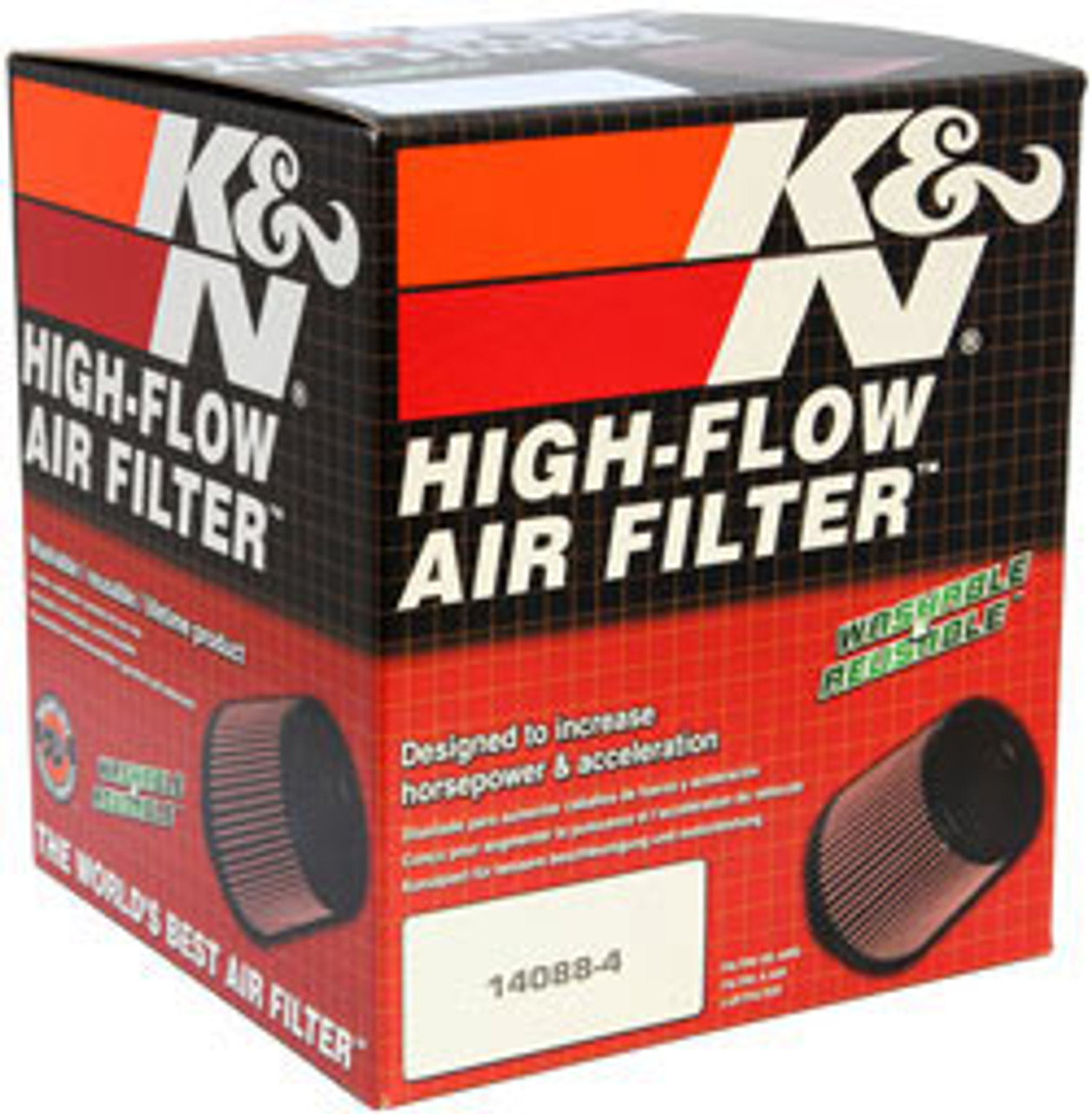 K/&N RC-4550 Universal Chrome Filter