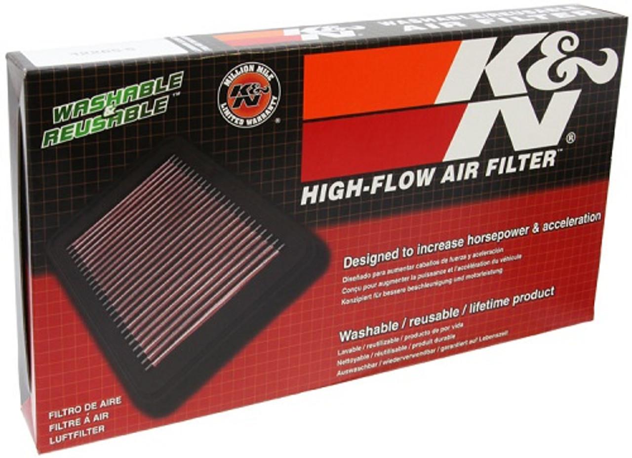 33-2201 KN AIR FILTER REPLACEMENT HIGH FLOW FILTRATION