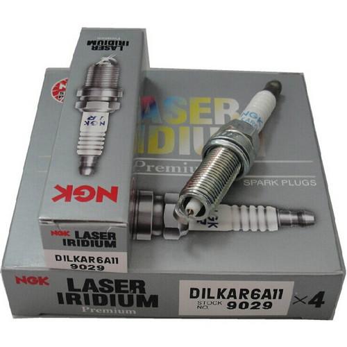 NGK DILKAR6A-11 LASER IRIDIUM SPARK PLUG - Nissan Sunny/ Sentra N17 - 4PCS/ SET