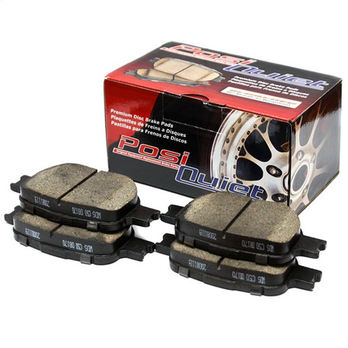 105.08660 Posi Quiet Ceramic Front Brake Pads - Mitsubishi, Chrysler, Dodge