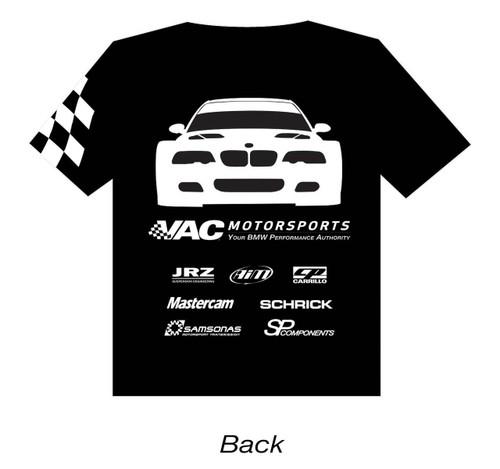 VAC T-Shirt - Motorsports GTR, Black, Large