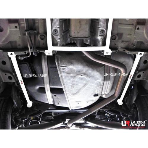 UR-RLS4-1845P Buick Regal, Opel Insignia 09-17 - Rear Lower Side Bars / Rear Member Side Braces (4 Points)