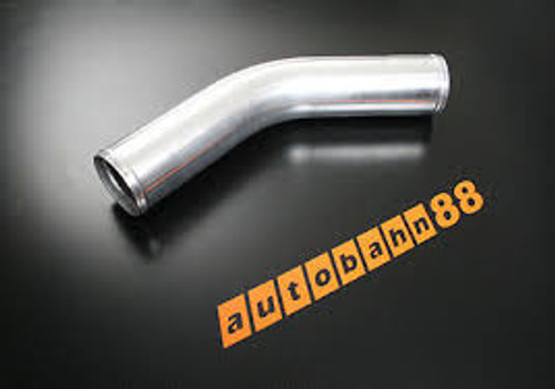 Autobahn88 45 DEGREE ELBOW  2.5 INCH,  ALU Short Pipes