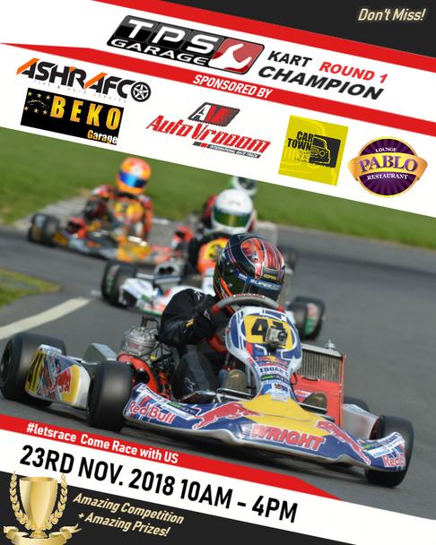 TPS Garage Karting Competition - Round 1