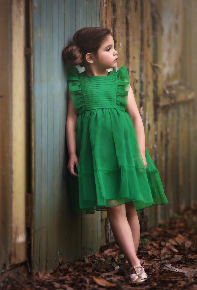 ALICE DRESS EMERALD