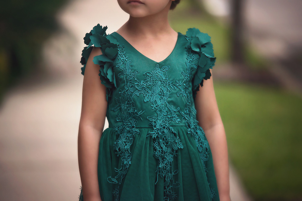 BIANCA DRESS EMERALD