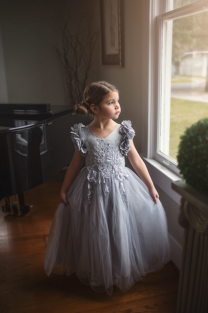 d0ccb5673 BIANCA GOWN SILVER - Trish Scully Child