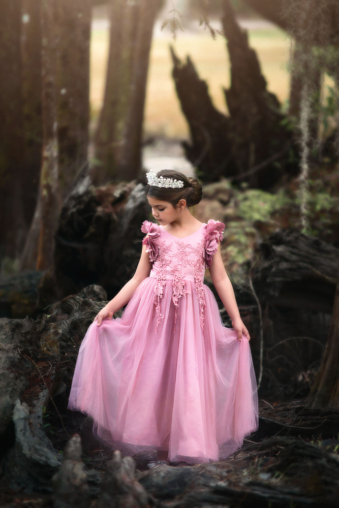 BIANCA GOWN ROSE