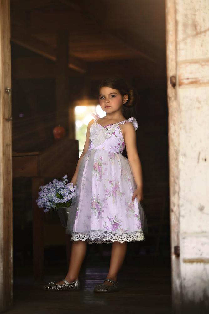 """PENELOPE DRESS LAVENDER"""